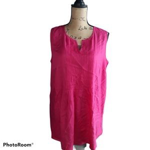 Woman Within Pleated Tunic Top 14/16